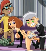 Plenty of Danny Phantom sexy pics, Danny fucking gorgeous Sams body, her ass and pussy