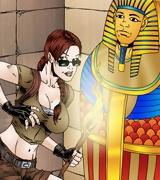 Lara croft xxx  toon comics