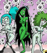 Hot sluts being naughty fucking with ghosts and other Danny Phantom characters.