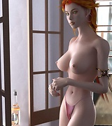 3D chicks slender and busty vixens in for any taste
