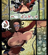 Spider-Man xxx pussy and tits porn