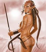 Sexy fantasy elf whores and futanari