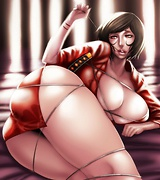 Bdsm hentai, drawn Morrigan Aensland stripping