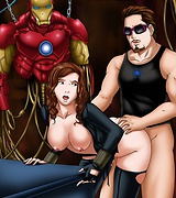 Iron man sex avengers