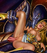 Masters and queens of fantasy xxx art