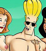 Johnny Bravo getting the finest pussy