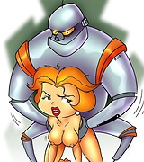 Jane Jetson fucked by robot