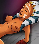 Star Wars hentai  - interracial with Ahsoka Tano
