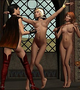 Lesbian sex and fetish games in 3D
