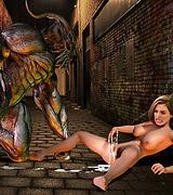Interracial monster cock porn