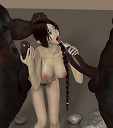 Demons fuck fantasy beauties porn