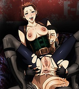 Resident evil hentai blow jobs and anal sex