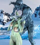 Sex dreams - blue ice babe fucked