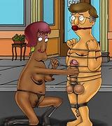Forbidden crazy BDSM sex scenes from Bob's Burgers cartoon