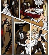 Hardcore interracial xxx bride on black cock