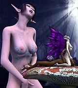 Sexy fairies and gorgeous elves nude porn