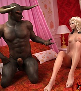Hardcore interracial sex. Ardent black men fucking creamy-skinned good-looking babes.