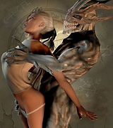 Forced sex - aliens and mystical beasts fuck girls