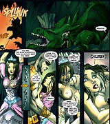 Fantasy brutal porn comics - Greatos god of whores
