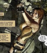 Gorgeous Lara Croft adventures