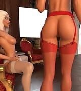 Hot elf babes in sexy underwear pictures