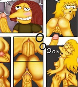 Kim Possible XXX, Foster gives blowjob to Bloo and lustful Simpsons